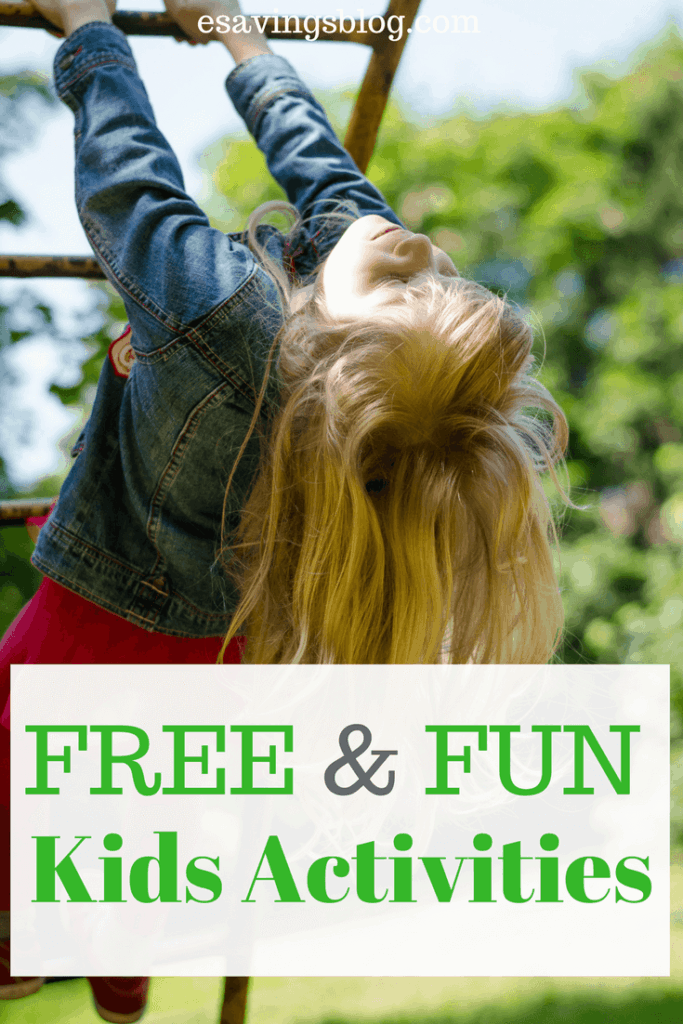 Looking for Fun Free Kids Activities? Check out these frugal & Fun Family activities.