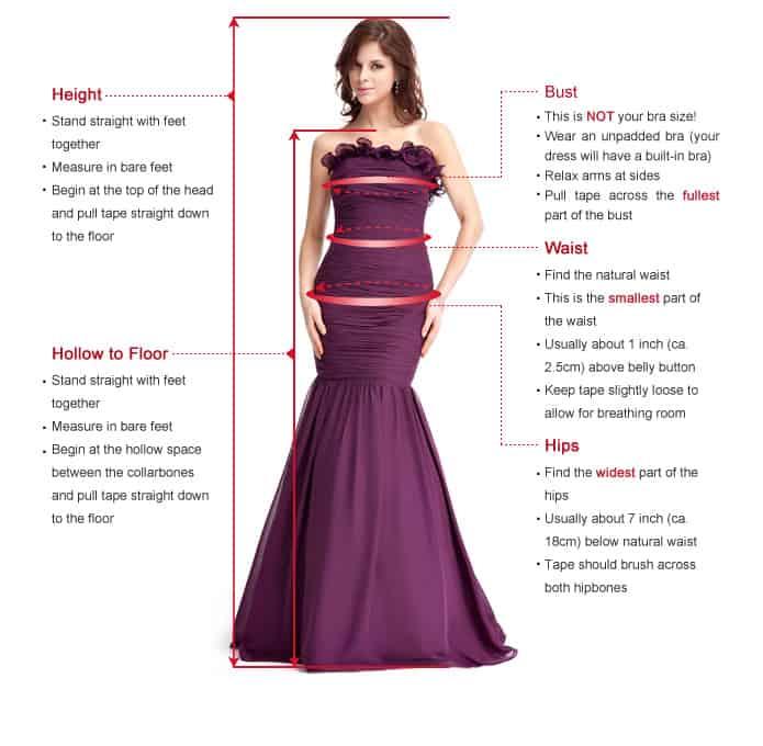 Wedding dresses on a budget esavingsblog for Wedding dress size guide