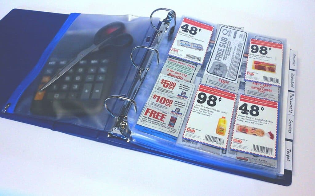 Need a full coupon binder to organize your coupons? Coupon Binder with inserts