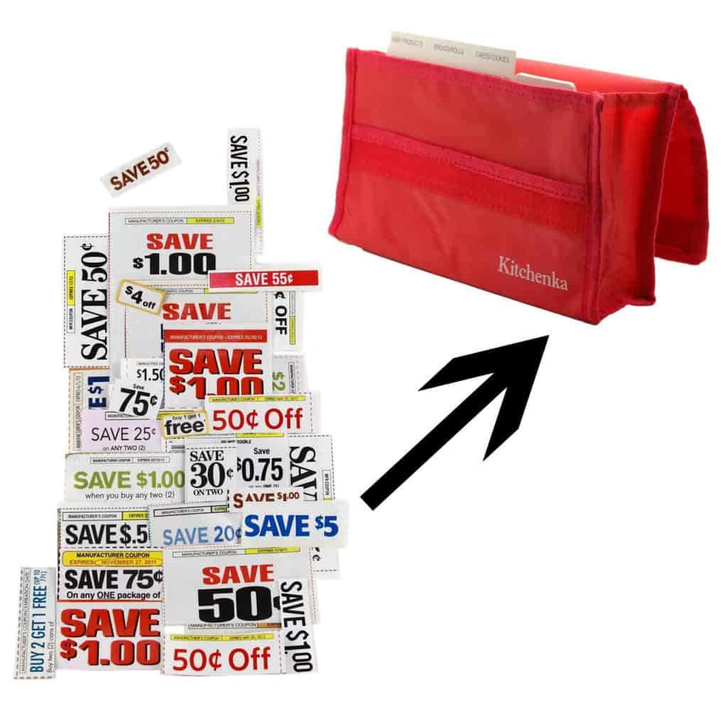 Need to organize your coupons? Check out this coupon organizer for your purse.