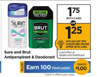 Coupon Matchups at Rite Aid