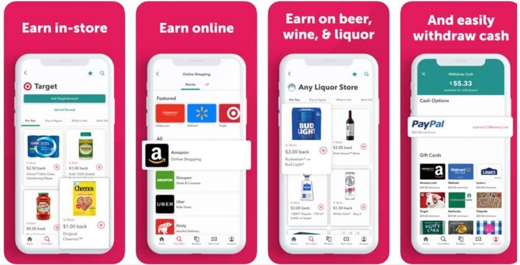 Ibotta App Shown in the App Store