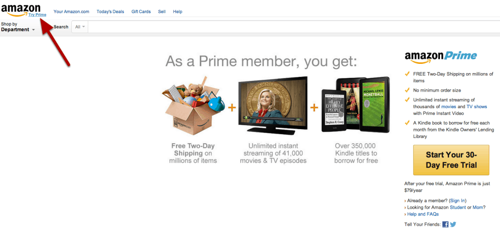 Save Money with Amazon Prime