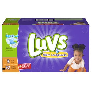 Save Money on Luvs DIapers