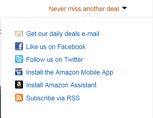 Learn how to Never Miss A Deal on Amazon by setting up alerts