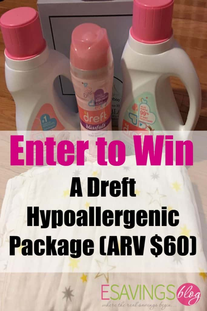 Protect Your baby's Skin with Dreft. Enter to win a Dreft Prize Pack!