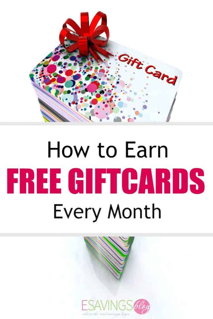 Need a little extra money each month? Learn hot to earn free gift cards each month easily!