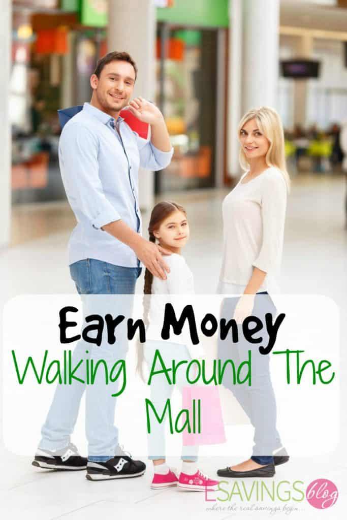 Earn Money Walking Around The Mall