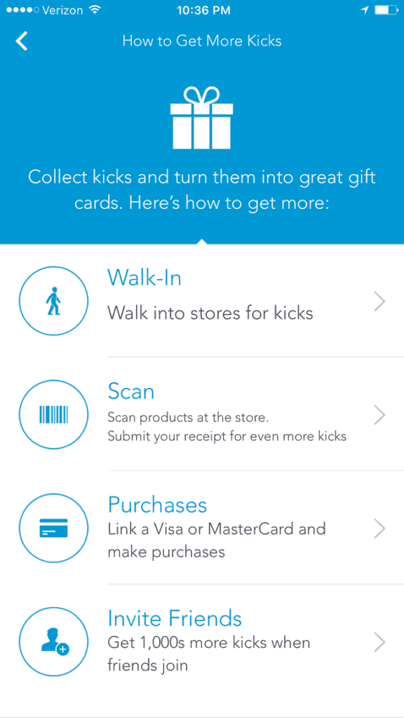 Earn money by using Shopkick when you are shopping
