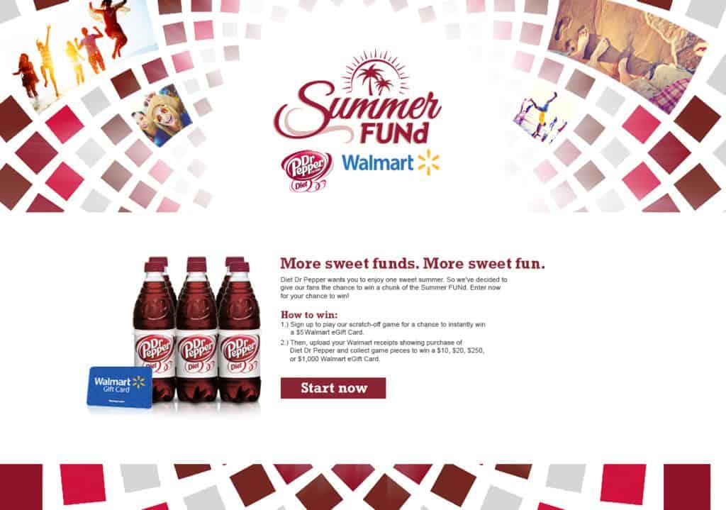 Dr. Pepper Summer Fund Giveaway