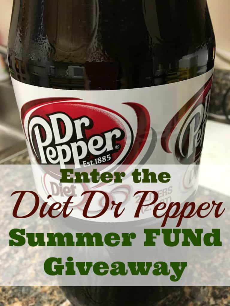 Enter to win in the Diet Dr Pepper Summer FUNd Giveaway!