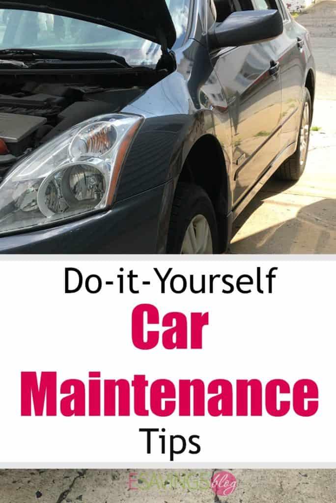 do it yourself car maintenance esavingsblog. Black Bedroom Furniture Sets. Home Design Ideas