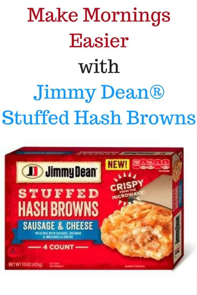 Make Mornings Easier with Jimmy Dean® Stuffed Hash Browns