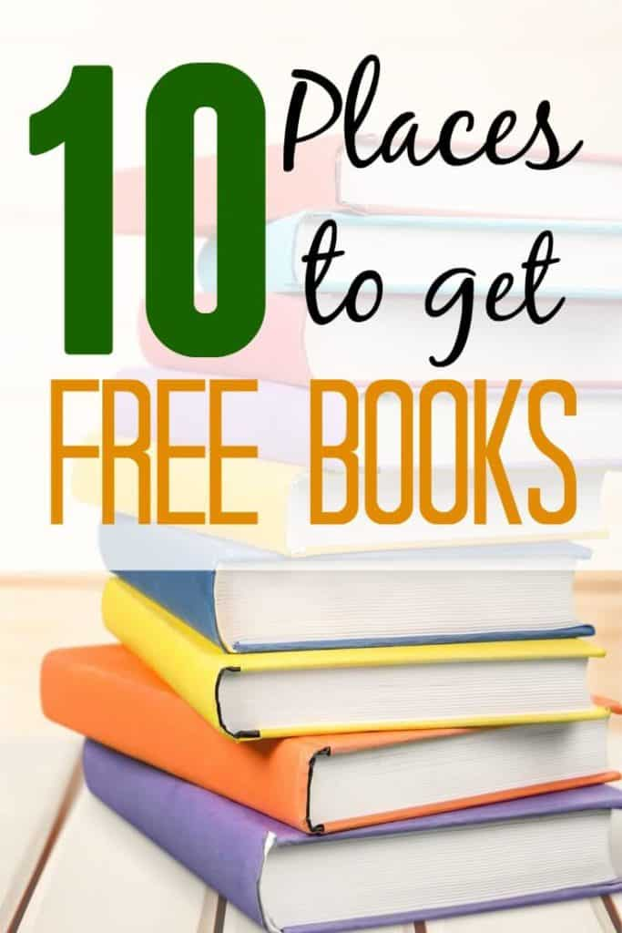 Need free books to read? Check out 10 places to get free books. These paces will have you reading everyday!