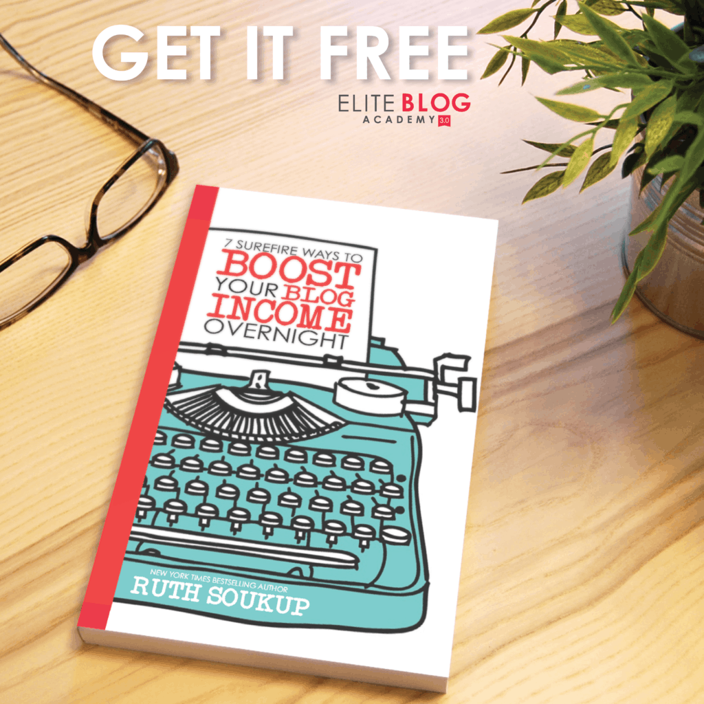 Grab a FREE Ebook about blogging: 7 Surefire Ways to Boost Your Blog income overnight!