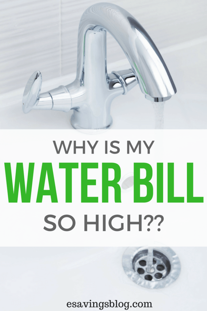 Why is my water bill so high? Ever wonder why your water bill is so high? High water bills can be caused by a few things, check out these tips!
