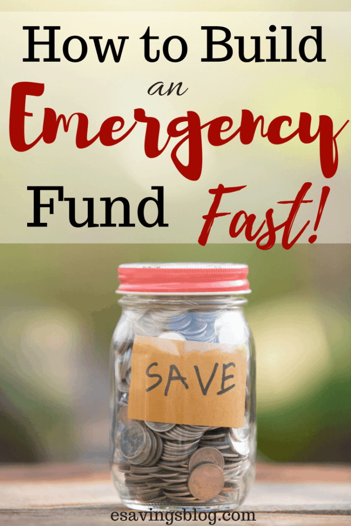 Need to build an emergency fund fast? Check out these tips.