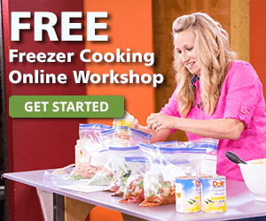 Freezer Meals Workshop