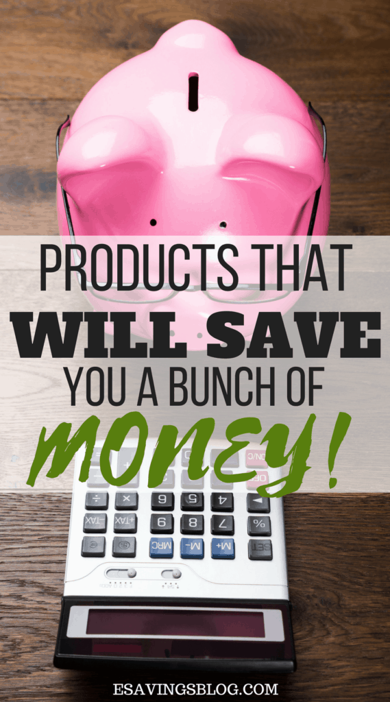 Money Saving Products. Reusable products to buy now save later!