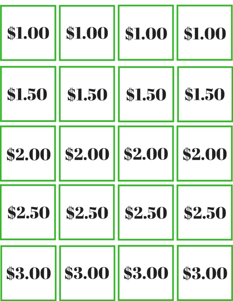 Money Saving Challenge Game