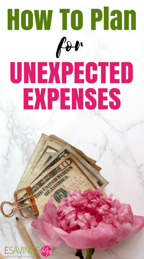 How to Plan for Unexpected Expenses!