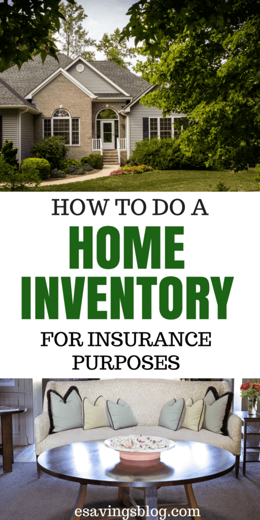 How to create a home inventory for insurance purposes! When Disaster strikes you need to be prepared with a home inventory. Plus free home inventory tracker.