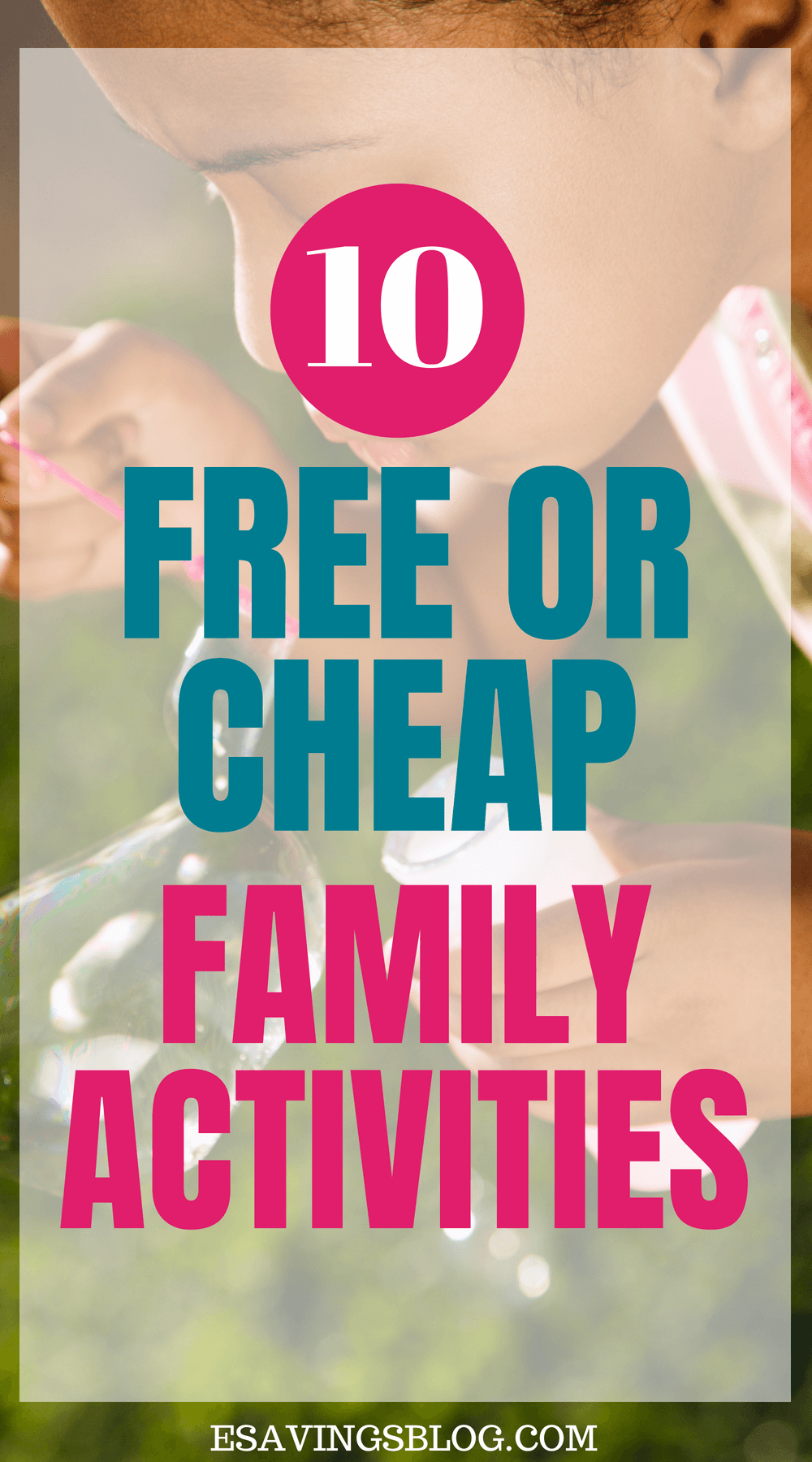 Free or cheap family activities!