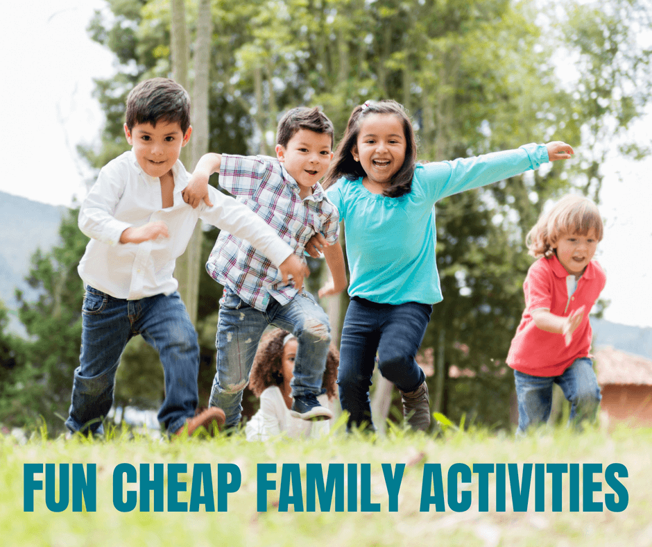 CHEAP FAMILY ACTIVITIES that everyone will enjoy!