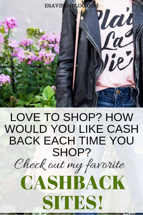 Websites that Give Cash Back every time you shop!