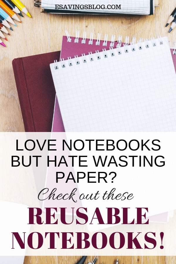 Reusable Notebooks: Never buy another notebook again!