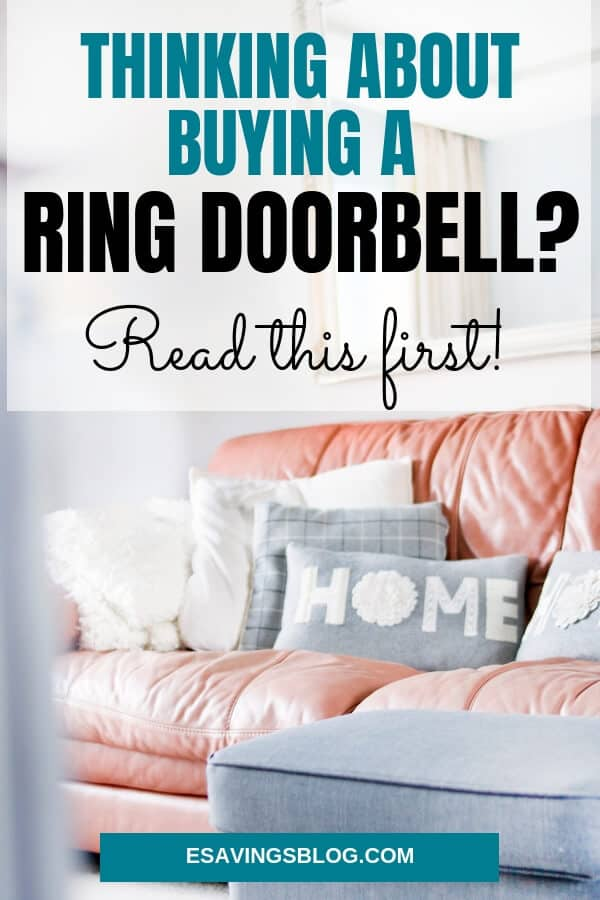 Thinking about a Ring Doorbell? Read this and you can get a Ring Doorbell discount!
