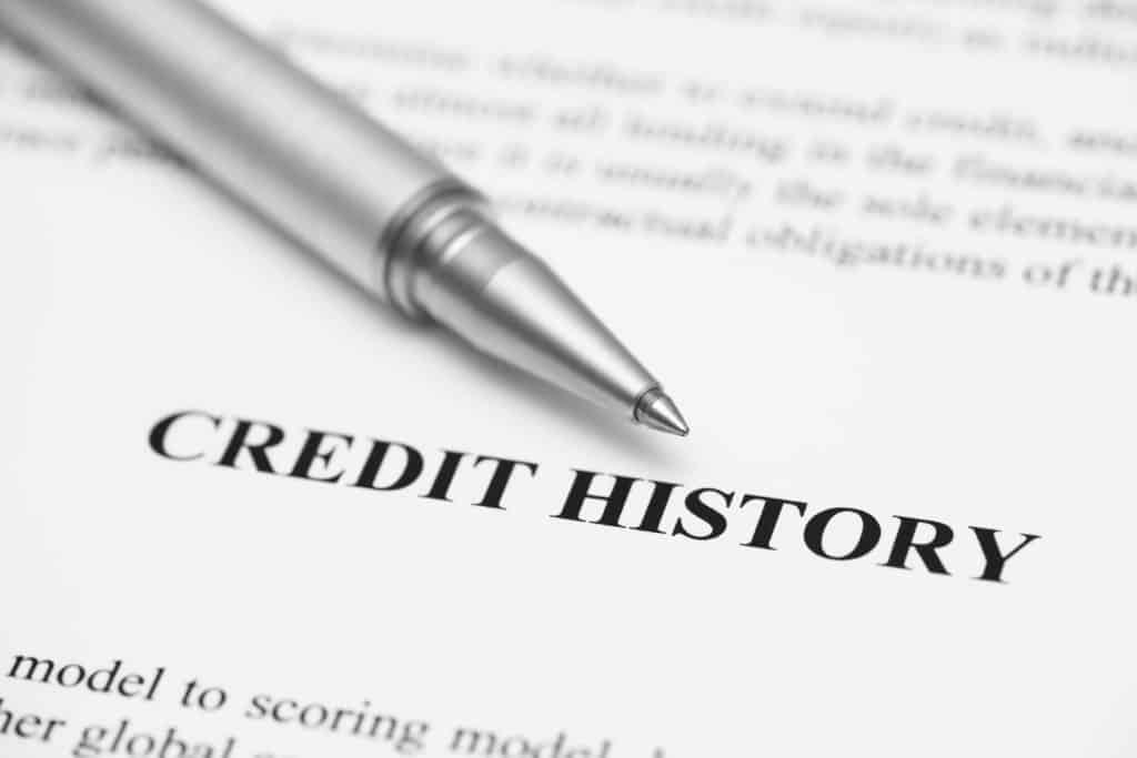 Credit History on Credit Report