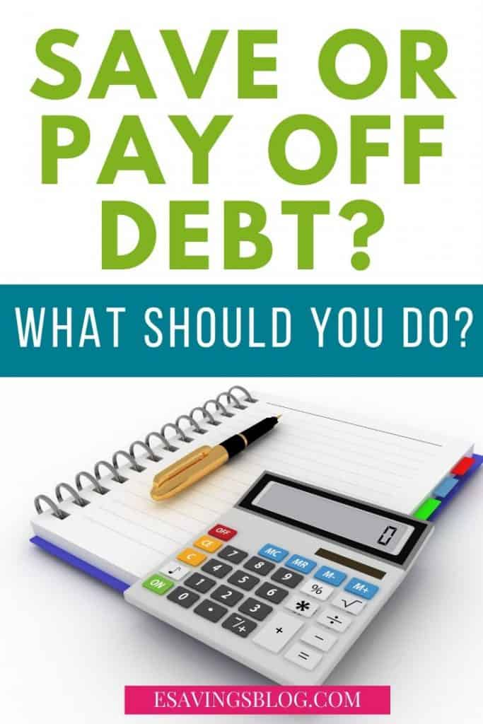 Save or Pay Off Debt