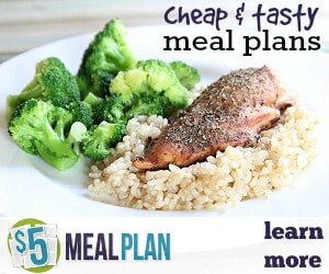 5 Dollar Meal Plan