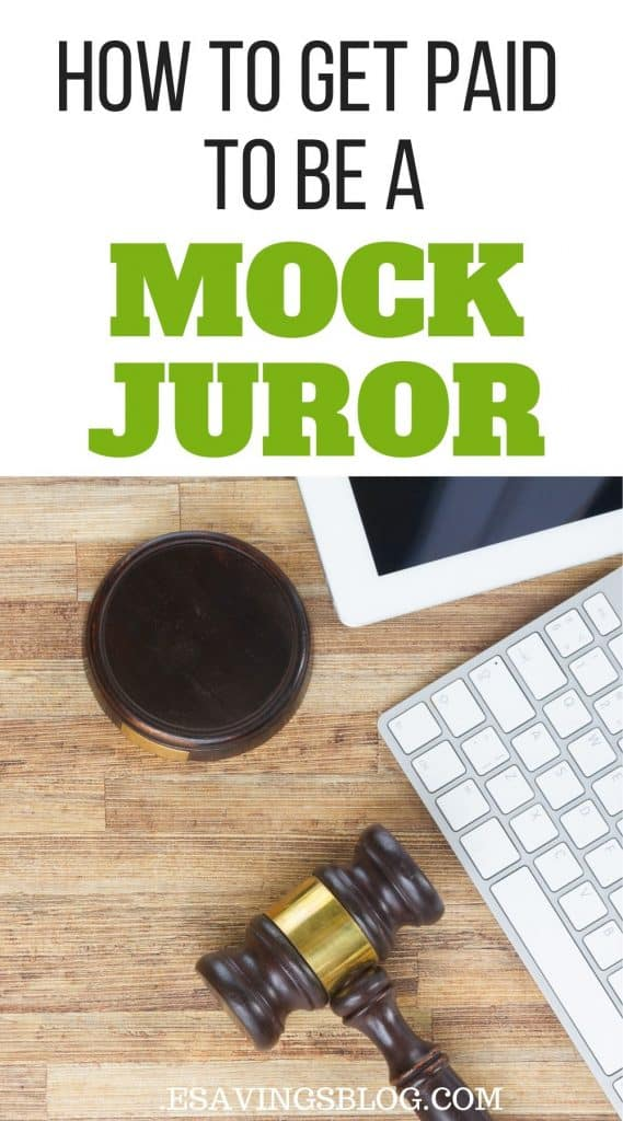 Get Paid to be a Mock Juror