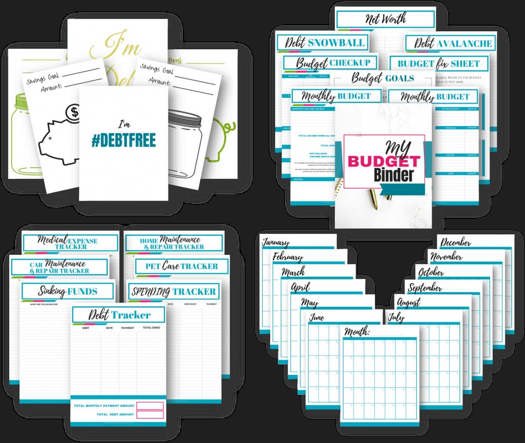 Deluxe Printable Budget Binder