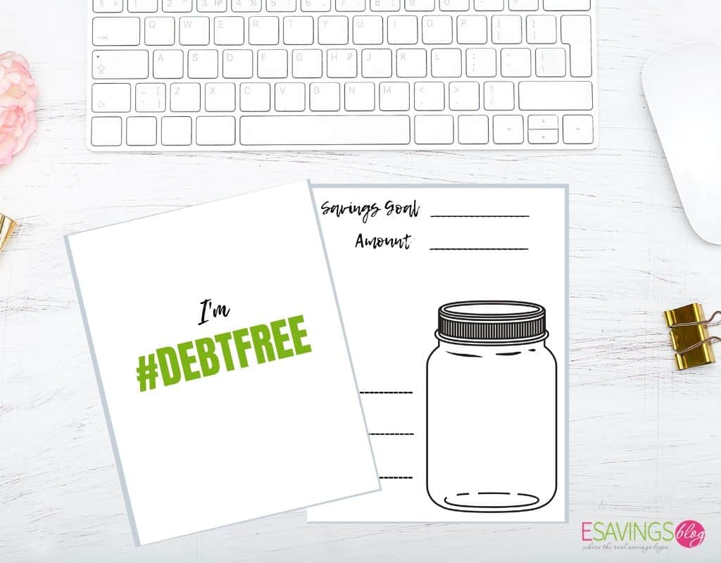 Motivational Printables for Paying off Debt