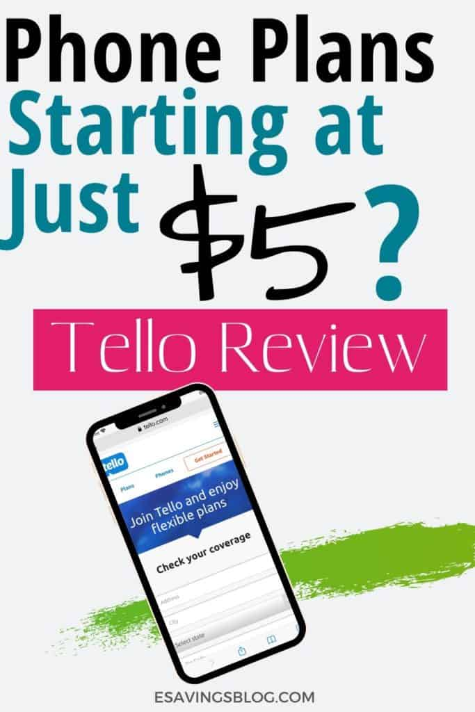 Tellow Cell Phone Service Review