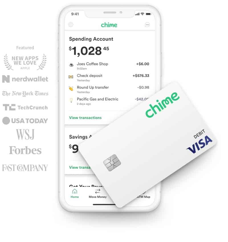 Chime App and Debit Card