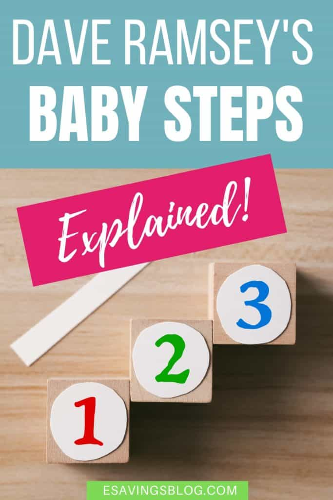 Dave Ramsey's Baby Steps Image