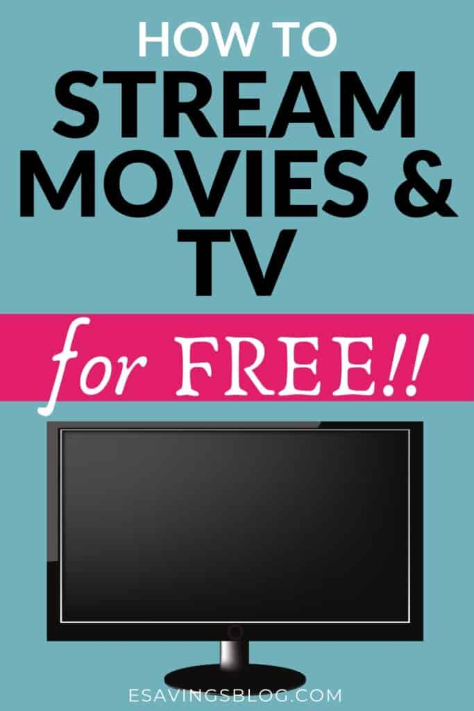 How to Stream Movies and TV for Free