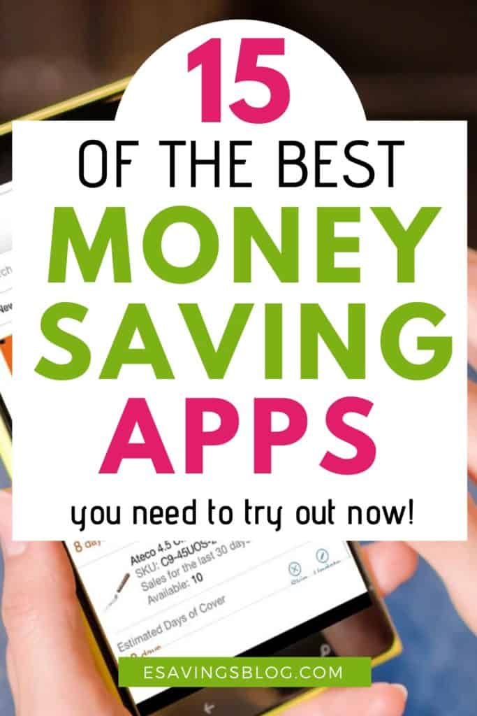 15 Money Saving Apps