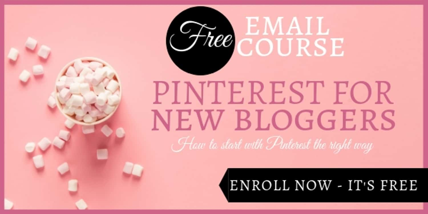 A Picture of the Course Pinterest for New Bloggers