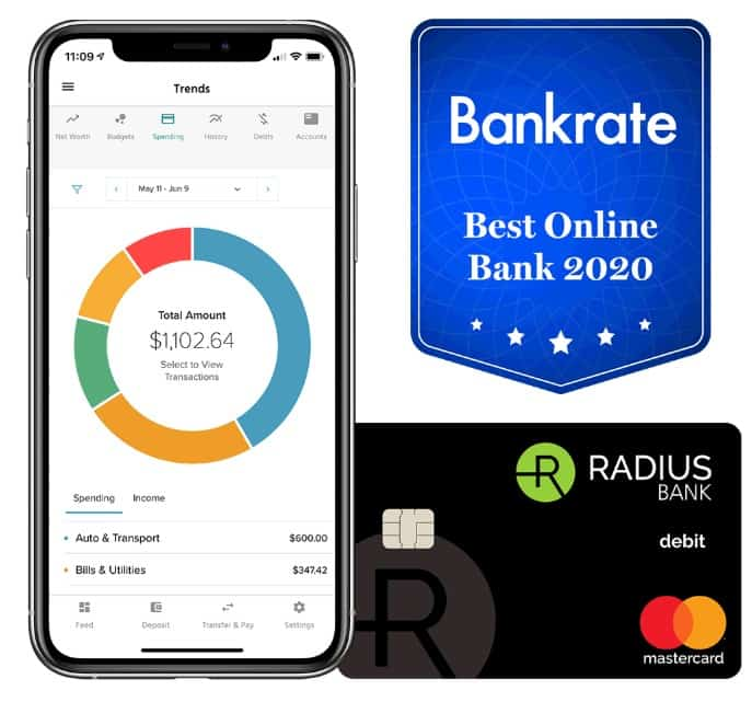 Radius Bank Checking Account