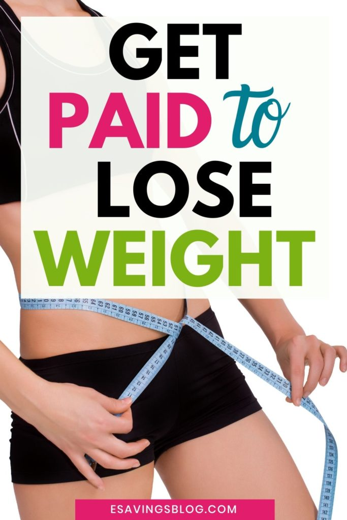 Get Paid to Lose Weight Banner Image