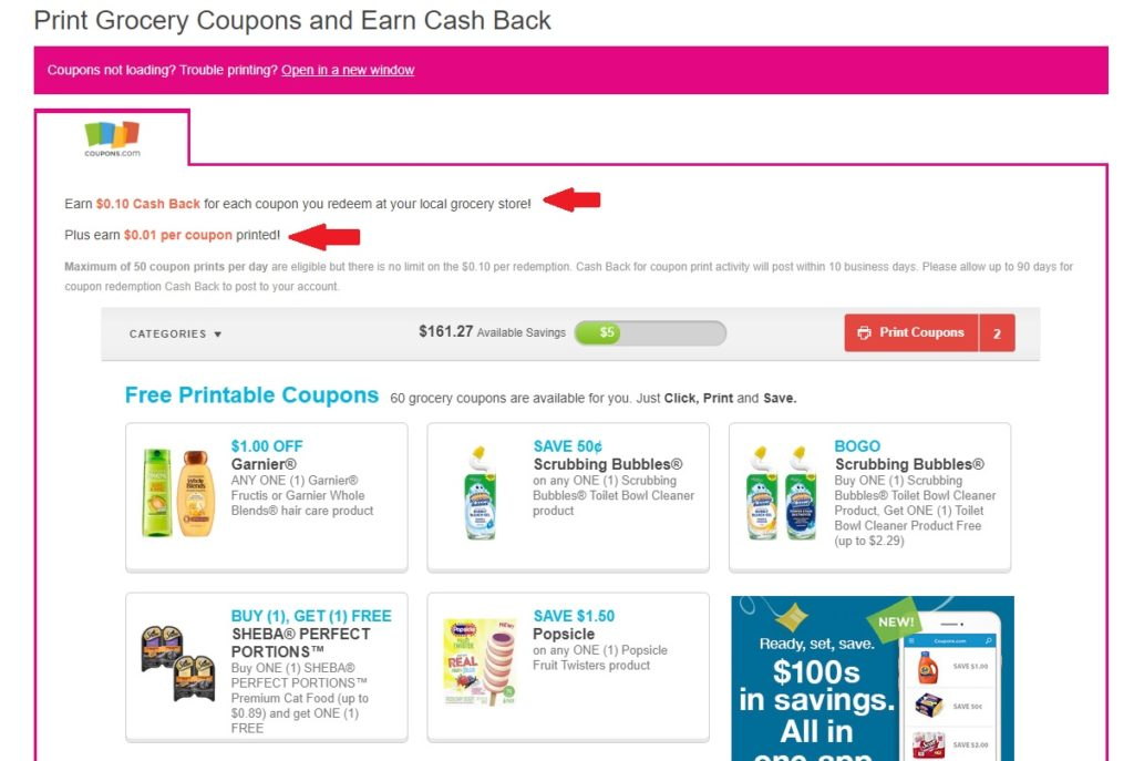 Shop at Home Printable Coupons