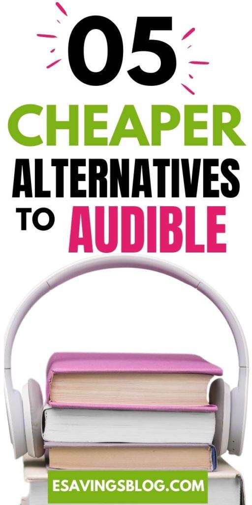 Cheaper Alternatives to Audible