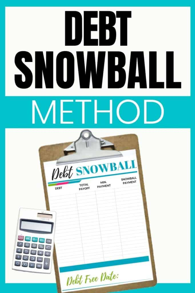 The Debt Snowball Method Printable and Calculator