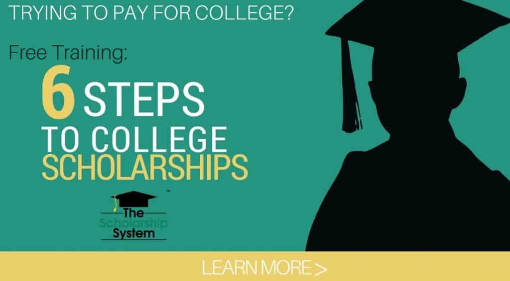 Banner for Scholarship Webinar