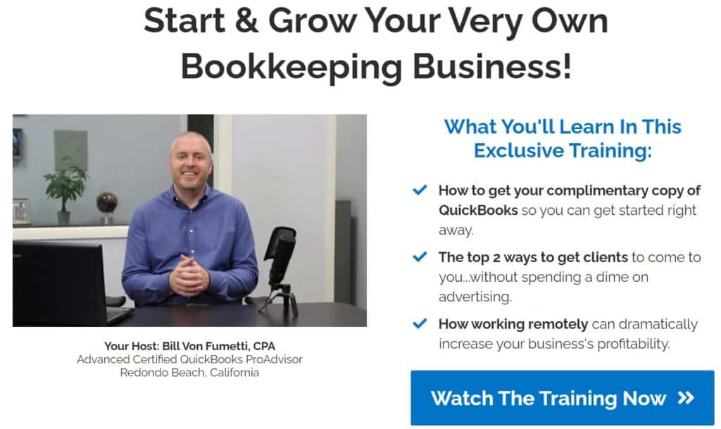 Booming Bookkeeper Free Training Info Photo